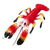 Luau Decorations Plastic Lobster Image