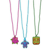 Luau Favors & Prizes Tropical Beaded Necklace Image