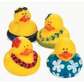 Luau Favors & Prizes Luau Rubber Duckies Image