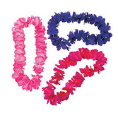 Luau Party Wear Bright Tonal Lei Image