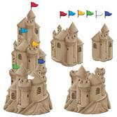 Luau Decorations Stackable Sandcastle Cutouts Image