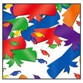 Graduation Decorations Multicolor Graduate Confetti Image
