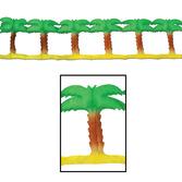 Luau Decorations Palm Tree Garland Image