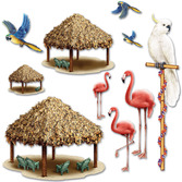 Luau Decorations Tiki Hut Props Image