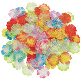 Luau Decorations Mini Bright Flower Petals Image