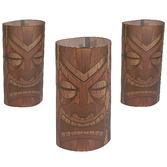 Luau Decorations Tiki Luminary Wraps Image