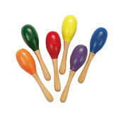 Cinco de Mayo Favors & Prizes Mini Solid Color Maraca Image