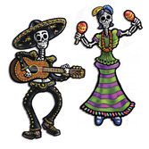 Day of the Dead Decorations Day of the Dead Skeletons Image