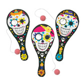 Day of the Dead Favors & Prizes Day of the Dead Paddleball Games Image