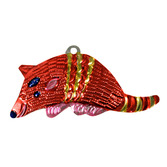 Cinco de Mayo Decorations Armadillo Tin Ornament Image