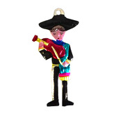 Cinco de Mayo Decorations Mariachi Tin Ornament Image
