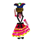 Cinco de Mayo Decorations Indita Tin Ornament Image