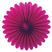 Valentine's Day Decorations Cerise Mini Tissue Fans Image