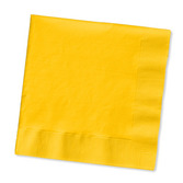 Thanksgiving Table Accessories Golden Yellow Luncheon Napkins Image