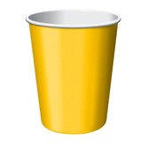 Mardi Gras Table Accessories Golden Yellow Cups Image