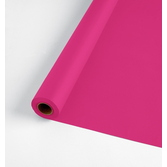 Valentine's Day Table Accessories 100' Table Roll Hot Pink Image