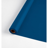4th of July Table Accessories 100' Table Roll Navy Blue Image