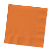Halloween Table Accessories Orange Beverage Napkins Image