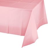 Easter Table Accessories Rectangular Table Cover Pink Image