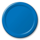 4th of July Table Accessories Royal Blue Dinner Plates Image