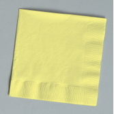 Table Accessories Yellow Beverage Napkins Image
