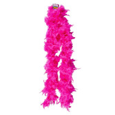 Valentine's Day Party Wear Hot Pink Feathered Boa Image