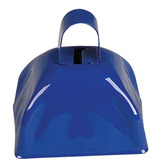 4th of July Favors & Prizes Blue Metal Cow Bell Image