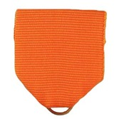 Fiesta Favors & Prizes Orange Ribbon Drape Image