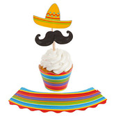 Fiesta Table Accessories Fiesta Cupcake Wrappers Image