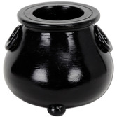 Halloween Decorations Cauldron Tea Light Holder Image