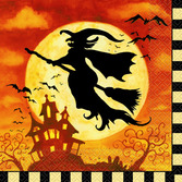 Halloween Table Accessories Spooky Hollow Luncheon Napkins Image