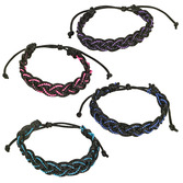 Favors & Prizes Two Tone Braided Bracelets  Image