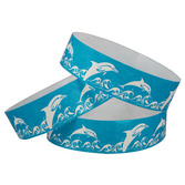WB Tyvek Wristbands Dolphins Image