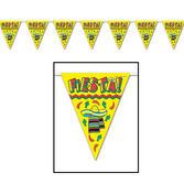 Fiesta Decorations Fiesta Pennant Banner Image