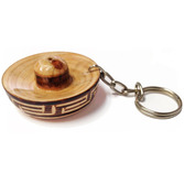 Cinco de Mayo Decorations Mexican Hat Keychain Image