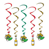 Cinco de Mayo Decorations Fiesta Whirls Image