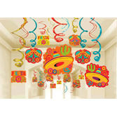 Cinco de Mayo Decorations Fiesta Foil Swirl Mega Pack Image