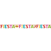Cinco de Mayo Decorations Fiesta Glittered Ribbon Banner Image