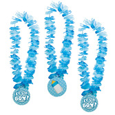 "Baby Shower Party Wear ""It's A Boy!"" Lei Image"