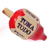 Fiesta Decorations Toma Todo Spin Top Game Image