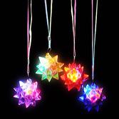 Cinco de Mayo Glow Lights Crystal Star Ball Flashing Necklace Image