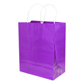 Gift Bags & Paper Medium Gift Bag Purple Image