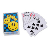 60s & 70s Favors & Prizes Smile Face Playing Cards Image