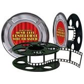 Awards Night & Hollywood Decorations Movie Reel Centerpiece Image