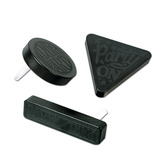 New Years Favors & Prizes Black Plastic Noisemaker Image