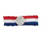 4th of July Party Wear Red, White and Blue Arm Band Image