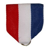 4th of July Favors & Prizes Red, White, and Blue Ribbon Drape Image