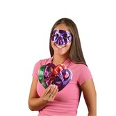 Mardi Gras Party Wear Metallic Half Masks Image