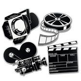 Awards Night & Hollywood Decorations Movie Set Cutouts Image