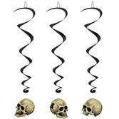 Halloween Decorations Skull Whirls Image